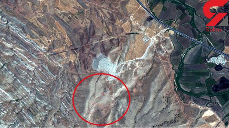 کشف عجیب / دیوار سنگی کهن ۱۱۵ کیلومتری در سرپل ذهاب + عکس