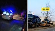 تصادف مرگبار کامیون با کاروان تشییع جنازه+ فیلم / چین