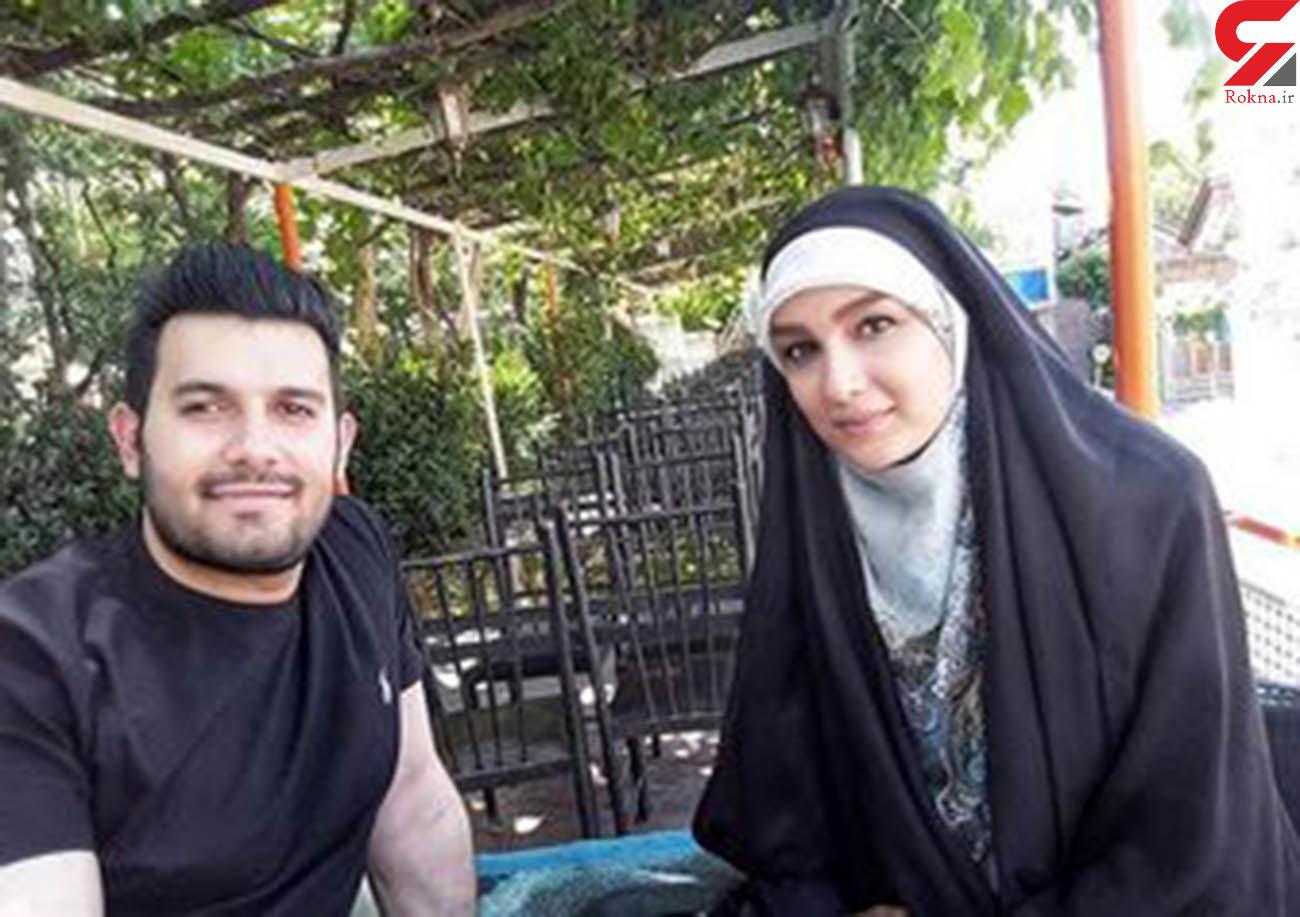 عکس متفاوت خانم مجری چادری با شوهرش !
