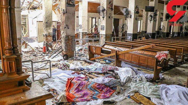 35تن از کشته شدگان انفجارهای سریلانکا خارجی بوده اند