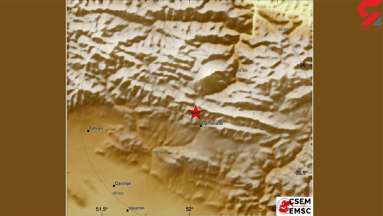 کانون زلزله تهران مشخص شد + جزئیات