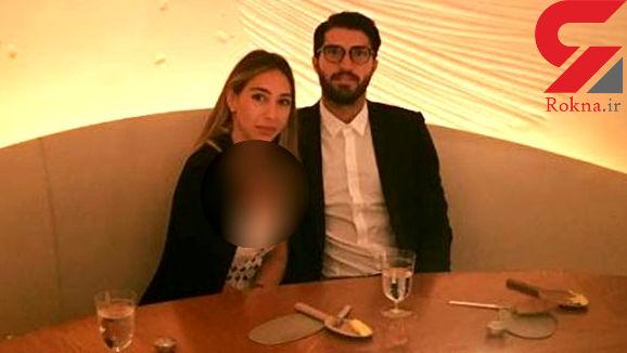 ساده ترین مراسم عروسی فوتبالیست ایرانی با خانم میلیاردر یونانی + عکس