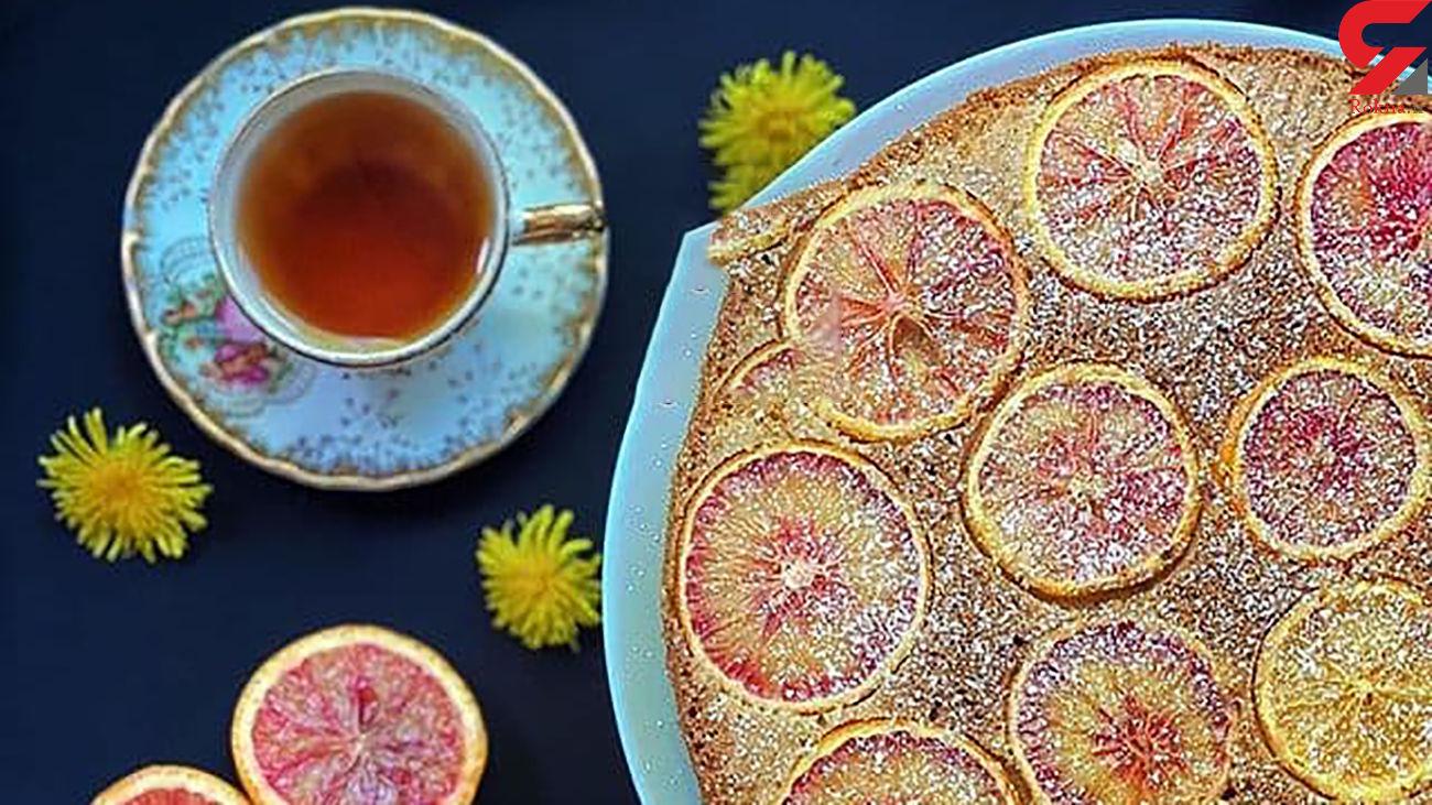 کیک پرتقالی عصرانه مناسب امروز