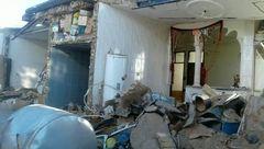 انفجار گاز در روستای گاوکش علیا دلفان + عکس