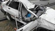 تصادف مرگبار پراید با نیسان یک تن را قربانی کرد / در فیروزآباد رخ داد
