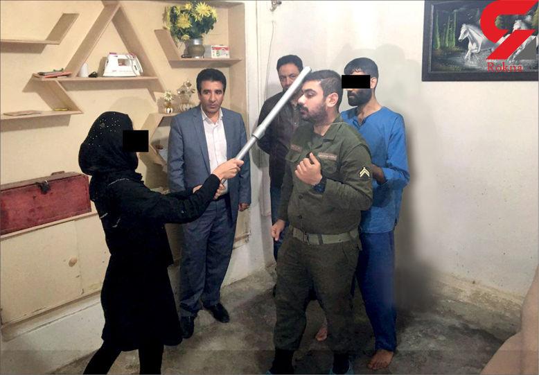 تصاویر لحظه به لحظه قتل مرد مشهدی توسط زن بی وفا و جوان غریبه! + جزییات