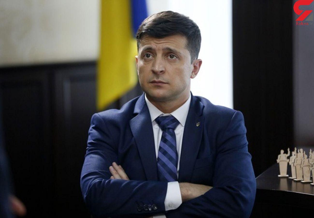 رییس جمهور اوکراین تهدید به قتل شد
