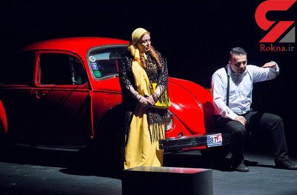 گزارشی از تئاتر افسار گسیخته ایران +تصاویر