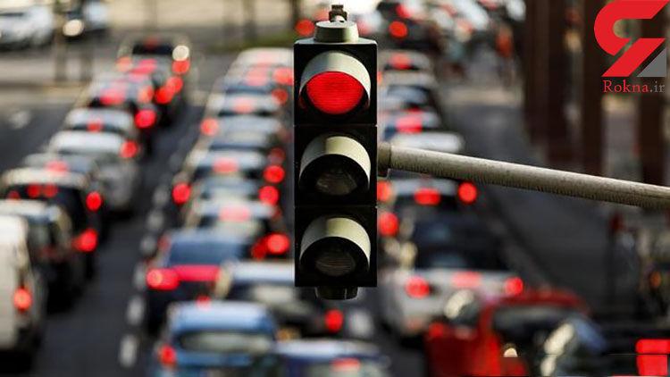 وضعیت ترافیک صبحگاهی بزرگراه های تهران بیست و دوم دی ماه