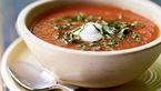 سوپ سرد سبزیجات فلفلی برای روزهای سرد زمستان+دستور پخت