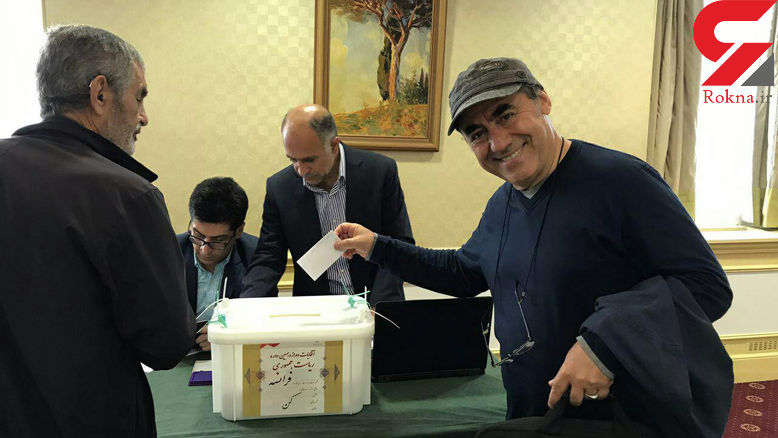 کمال تبریزی در انتخابات شرکت کرد+ عکس
