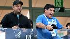 مسخره بازی های مارادونا بازهم جام جهانی را به هم ریخت!