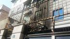 آتش سوزی آبگرمکن دیواری در منزل مسکونی
