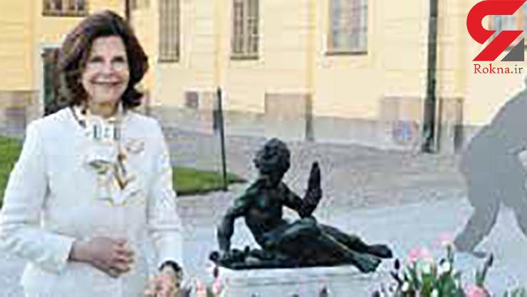 ارواح مهربان کاخ با زن 73 ساله مشهور چه کردنذ؟+عکس