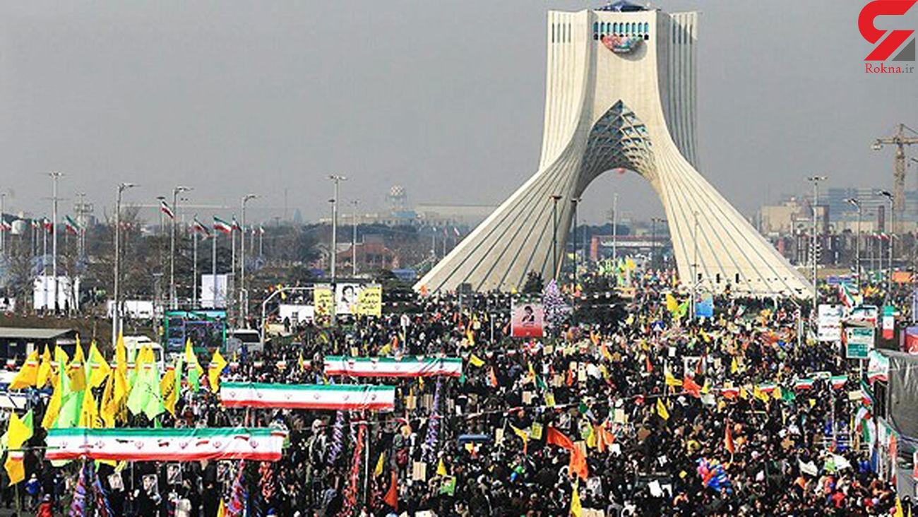 دعوت گسترده به حضور پرشور و همگانی در راهپیمایی 22 بهمن +مسیرها