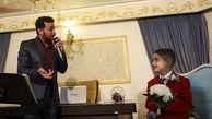 خواننده عرب برای دامادی کودک اهوازی خواند!؟ +عکس