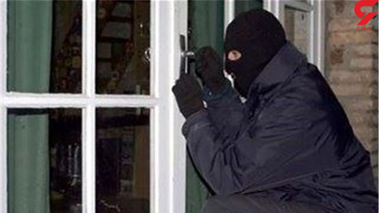 سبقت گرفتن صاحبخانه از دزد !