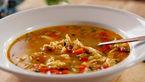 خوشمزه ترین سوپ بوقلمون با سس لیمو و آویشن