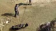غرق شدگی مرد ۴۵ ساله در رودخانه بشار