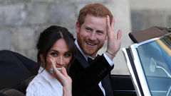 در مهمانی بعد از مراسم رسمی ازدواج پرنس هری و مگان مارکل چه گذشت؟+عکس