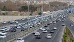 ترافیک در جادههای منتهی به شمال/ کاهش دید در هراز و فیروزکوه