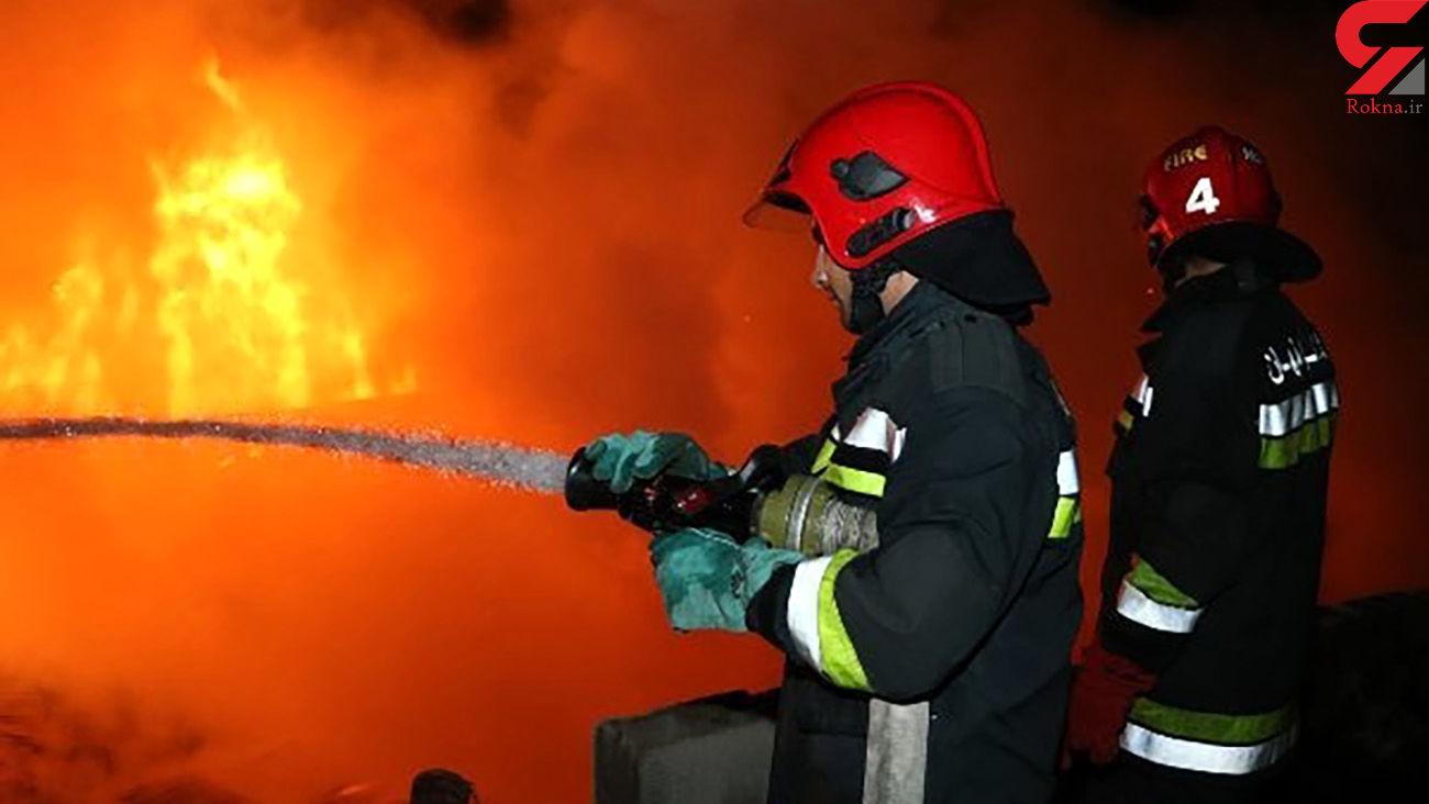 آخرین خبر از آتش سوزی هولناک کارخانه مواد غذایی 202 در البرز