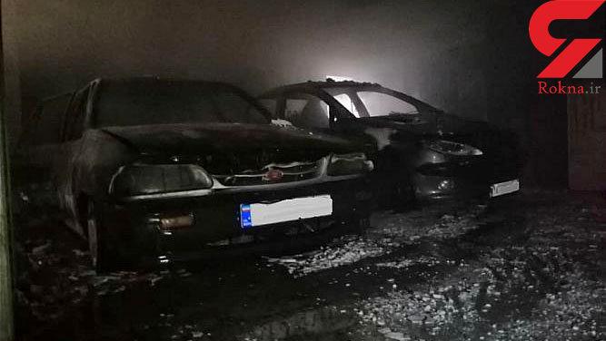 آتش سوزی فاجعه بار در شهرک حکیمیه+ تصاویر