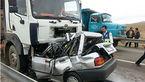 جزئیات تصادف اتوبوس ولوو در سمنان تشریح شد