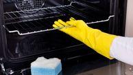 تمیز کردن فر با ترفندهای خانگی و طبیعی