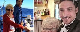 عشق زن ۸۰ ساله به محمد ۳۵ ساله سوژه جهانی شد + عکس