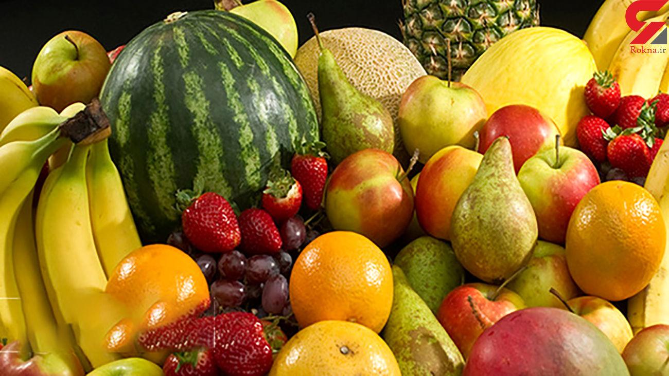 عرضه میوههای ورود موقت در بازار