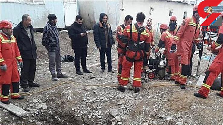 عملیات آتشنشانان تهرانی برای نجات یک سگ +فیلم