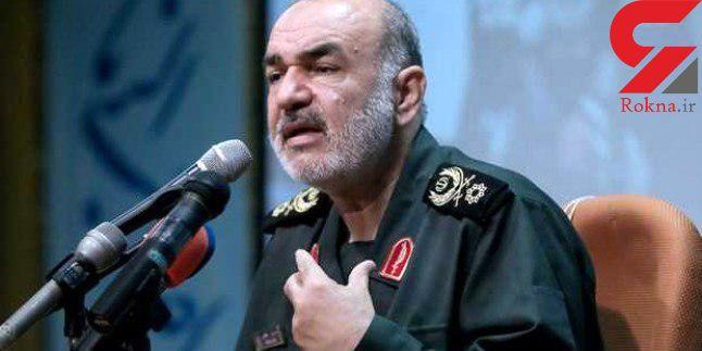 فرمانده کل سپاه: امنیت خواسته بلاواسطه مردم است