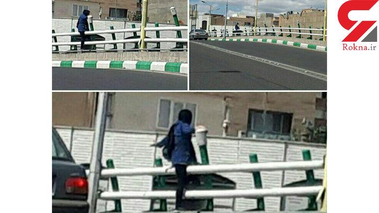 عکس هایی از اقدام به خودکشی دختر جوان تبریزی