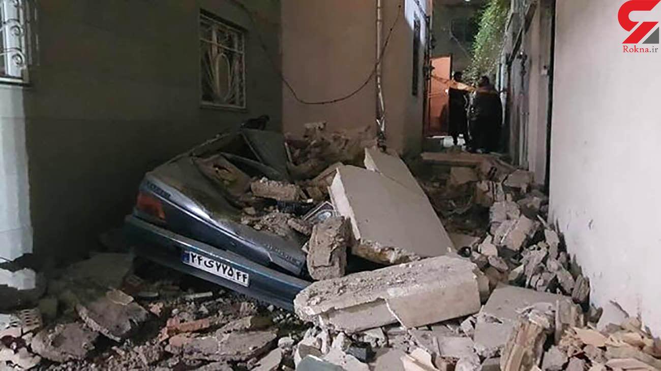 فیلم از صحنه له شدن خودروهای 3 تهرانی در ریزش ساختمان