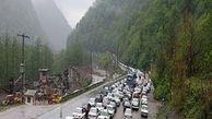 ترافیک سنگین در تهران