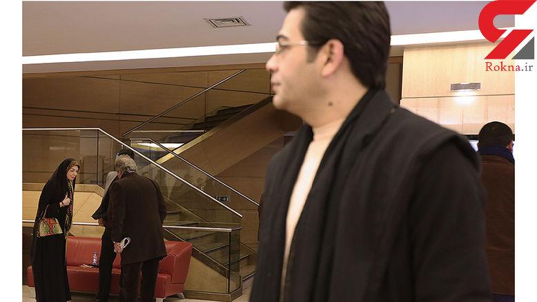 زوج سابق و پر حاشیه در کاخ جشنواره +عکس