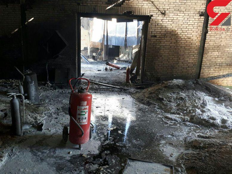انفجار تعمیرگاهی در خیابان سرباز کرمان