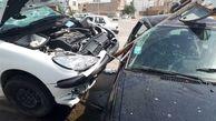 در حادثه ای غم انگیز 2 پاکبان شهرداری کشته و زخمی شدند+ عکس