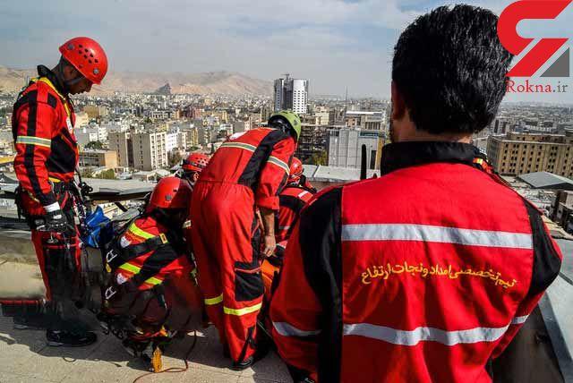 اعزام ۲ تیم امدادی در حادثه تروریستی امروز + عکس