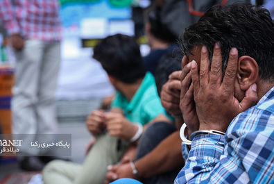 طرح رعد ۲۵ پلیس پیشگیری تهران