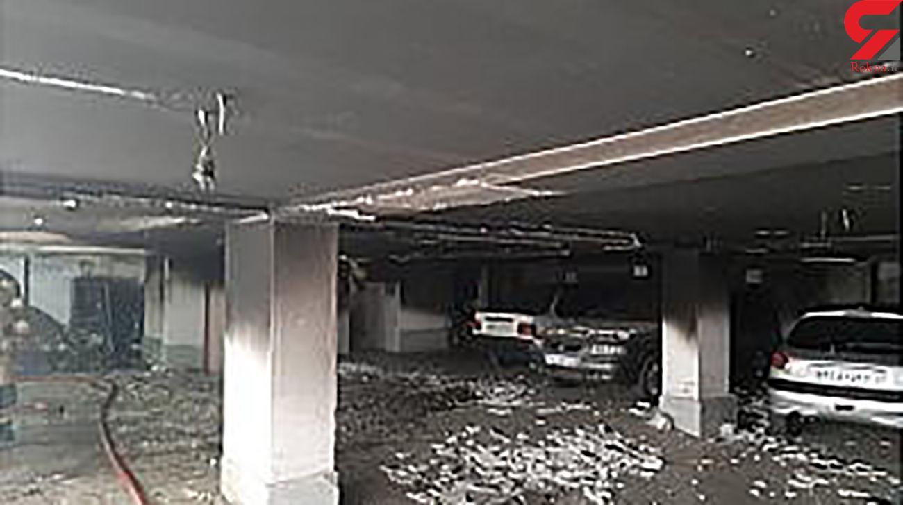 30 تهرانی در یک قدمی مرگ + 7 عکس از صحنه آتش سوزی