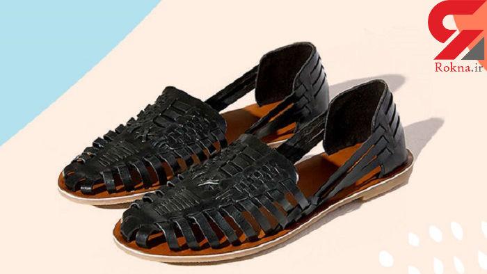 ست کردن کفش پاشنه کوتاه با لباس مجلسی