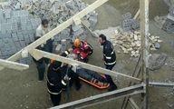 مرگ فجیع یک جوان از ساختمان نیمه کاره/ علت حادثه نامعلوم + عکس