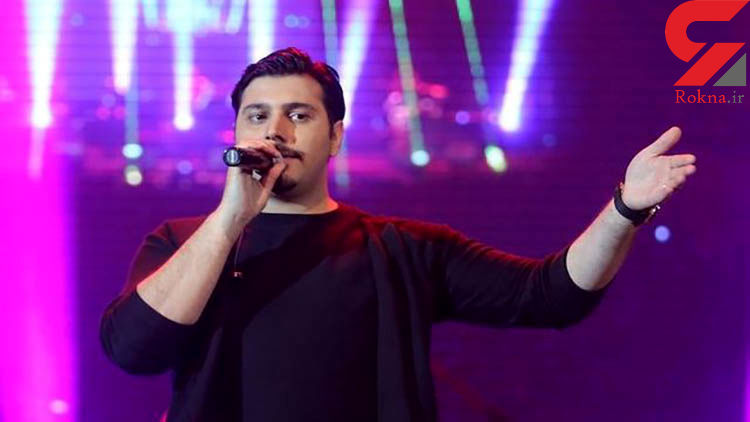 احسان خواجه امیری خواننده معروف مصدوم شد !