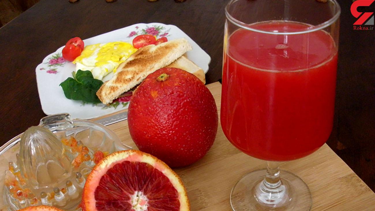 آبمیوه طبیعی در رفع کم خونی