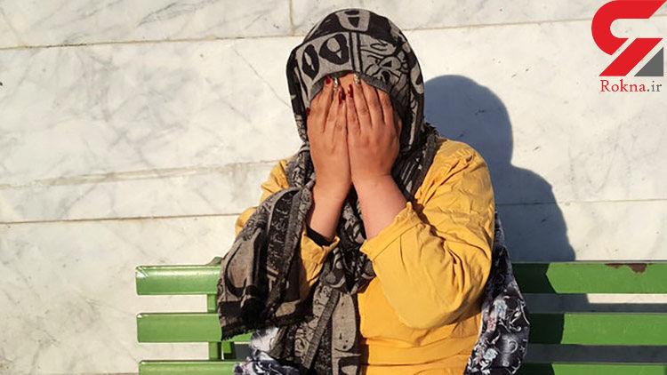 این زن مانتو خردلی در تهران چه می کرد؟! + عکس