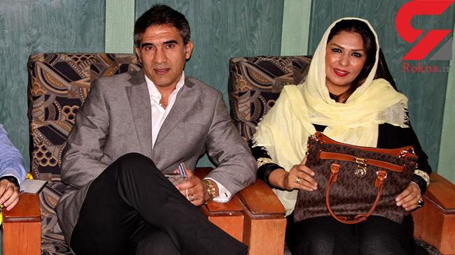 واکنش عابدزاده به ماجرای 3 زنه بودنش + عکس همسرش