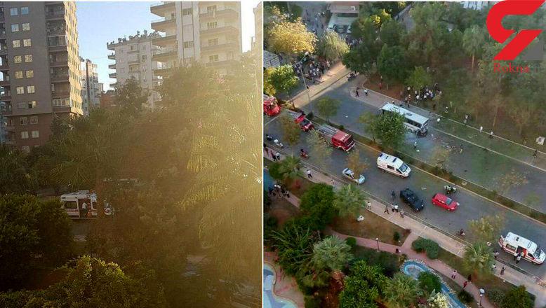 انفجار بمب در جنوب ترکیه + عکس