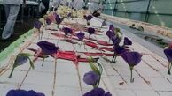 توزیع کیک یک کیلومتری میلاد امام رضا (ع) در مشهد